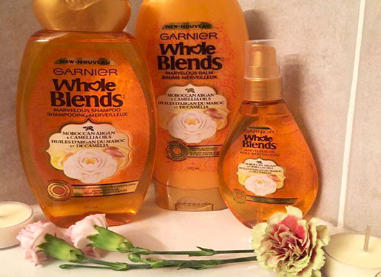 New Garnier Whole Blends